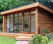 garden rooms and outdoor log cabin company derby nottingham